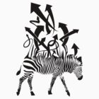 Zebra Abstract Design by Eric Maki