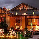 Christmas lights in Glenroy by Darren Stones