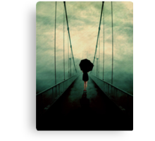 Walk Away Canvas Print