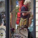 peoplescapes #141, window shopping by stickelsimages