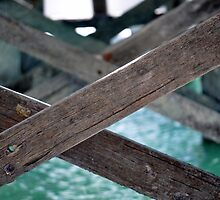 Jetty see through #2 - Monkey Mia Western Australia by wildfillies