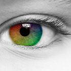 Macro Multi Colour Eye by karfarzel