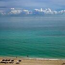 Beach Day, Florida by Yuri Lev