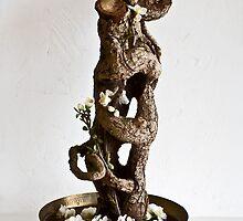 Baiko's Ikebana Art by Baiko