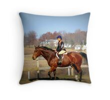 Trot Your Horse Throw Pillow