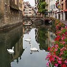 Annecy, France by Jean-Pierre Ducondi