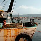 Rusted Trawler at Izola  by jojobob