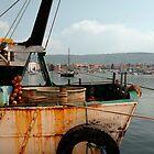 Rusted Trawler at Izola  by jojobob