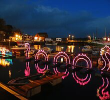 Cornwall: Padstow Illuminations  by Rob Parsons