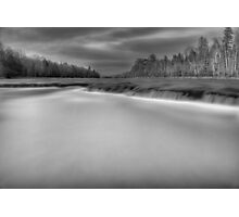 Grey Wash Photographic Print