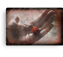 Would You Trust Me With Your Heart? Canvas Print