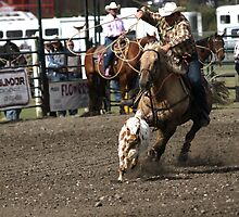 Cochrane Lions Rodeo #16, 2009, Canada. by Felicity McLeod