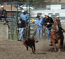 Cochrane Lions Rodeo #25, 2009, Canada. by Felicity McLeod
