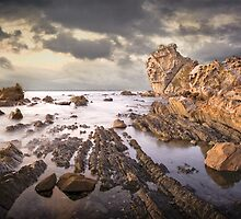 Honey comb rock by AlistairThom