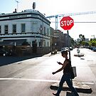 Stop - Fitzroy, Australia by Anthony Evans