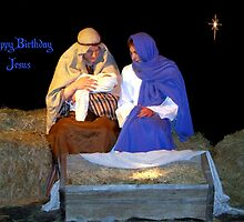 Happy Birthday Jesus by Glenna Walker