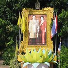 His Majesty The King and Queen of Thailand by Jack Reverman
