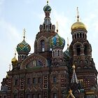 The Church of the Savior on Spilled Blood. by nclames
