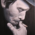 Tom Waits by EDee
