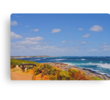 The south west corner Canvas Print