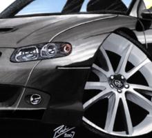 Vauxhall Monaro VXR Black Sticker