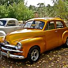 Gold FJ Holden by Ferenghi