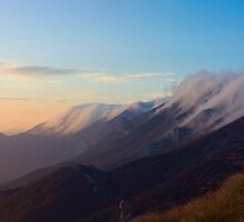 Evening on mountain Velebit by Ivan Coric