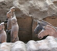 Chine 中国 - Xian 西安 - Terracota Warriors by Thierry Beauvir