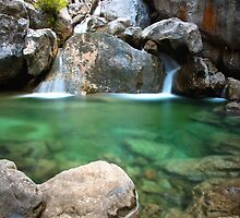 Rocks and water by Ivan Coric