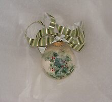 handpainted ornament by cicalese653
