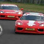 Ferrari Twins by MSport-Images