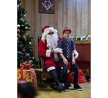 Alki Lodge Santa 2292 Photographic Print