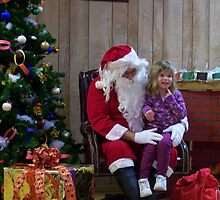 Alki Lodge Santa 2295 by Kristin Bennett