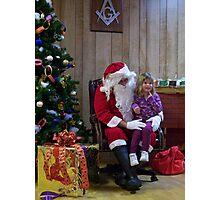 Alki Lodge Santa 2295 Photographic Print