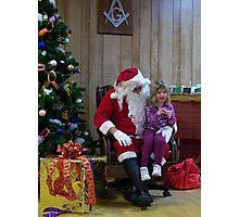Alki Lodge Santa 2297 Photographic Print