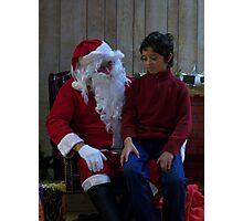 Alki Lodge Santa 2303 Photographic Print
