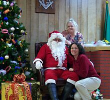Alki Lodge Santa 2332 by Kristin Bennett
