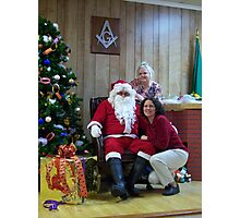 Alki Lodge Santa 2332 Photographic Print