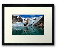 Northwestern Glacier Reflected Framed Print