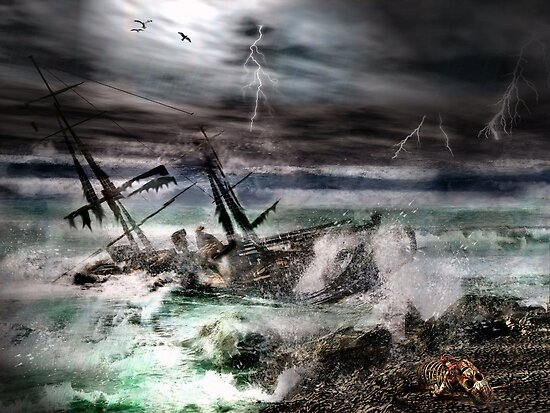 The Deadly Storm by frogster