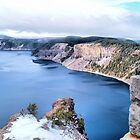 Crater Lake by jeanniechris