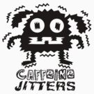 caffeine jitters - dog by Andi Bird