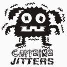 caffeine jitters - dog by Andi Bird