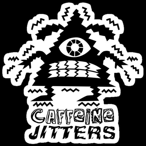 caffeine jitters - pointy by Andi Bird