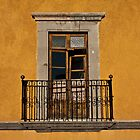 From the Terrace - Queretaro Mexico by Rhonda Dubin