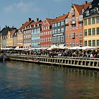 The Dock at Nyhavn, Copenhagen by Mark Prior