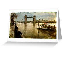 Tower Bridge, London Greeting Card