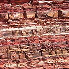Rock strata by shazart