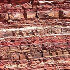 Rock strata by shazart