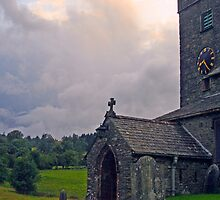 Hawkshead Church by Debbie Ashe